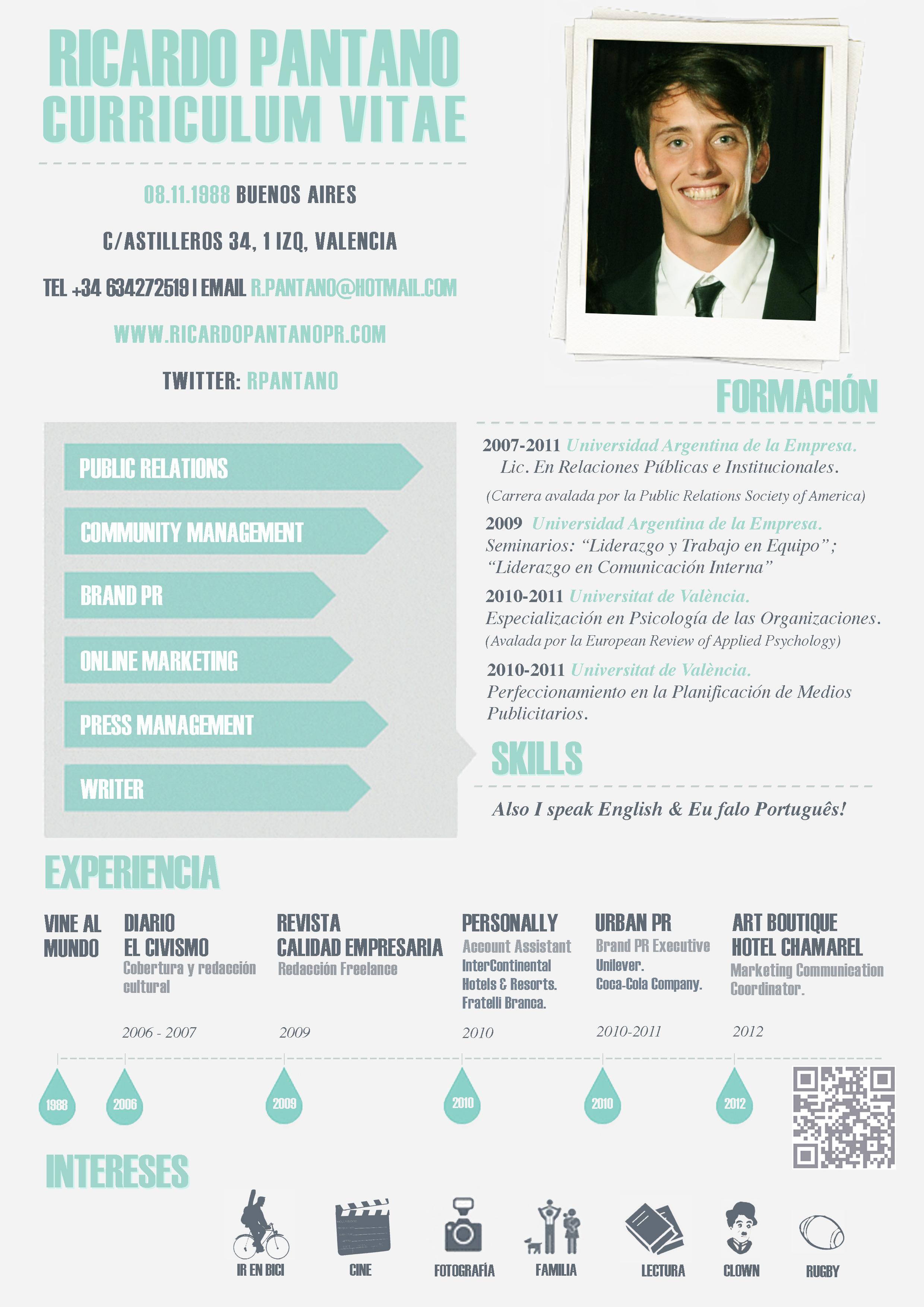 Vistoso Creador De Currículums Creativos En Línea Gratis Imagen ...